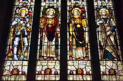 Batcombe, Blessed Virgin Mary Church, The east window stained glass by Nicholson