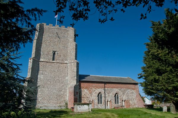 Bawdsey, St Mary the Virgin Church photo, Exterior view