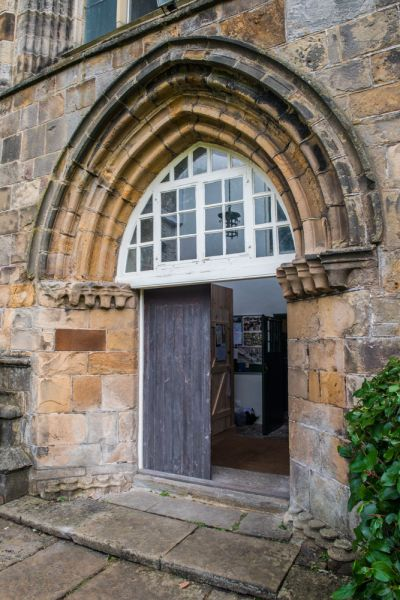 Beauchief Abbey photo, The tower entrance