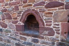 Beauly Priory, 13th century piscina