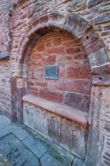 Beauly Priory, Tomb of Alexander Chisholm, 1793