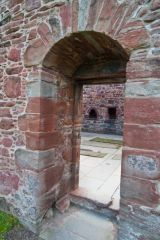 13th century arch into the church