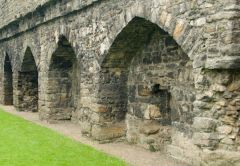 Arches in the curtain wall