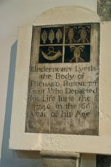 Burnett memorial tablet