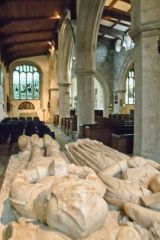 Bulkeley tomb and effigies
