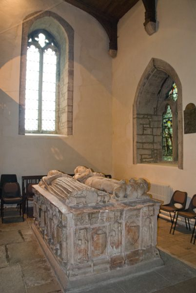 Beaumaris, St Mary and St Nicholas photo, Bulkley chest tomb again!