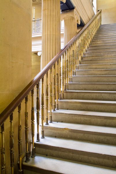 Belsay Hall and Garden photo, Staircase