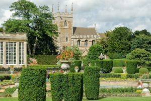 Belton House, The church and formal gardens