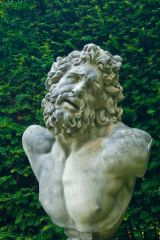 Classical statue in the garden