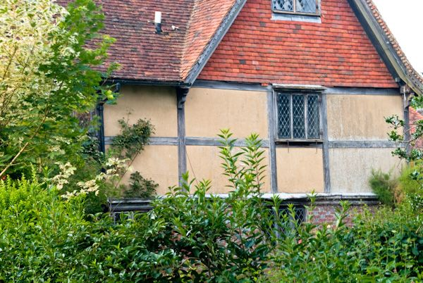 Benenden photo, Half-timbered house