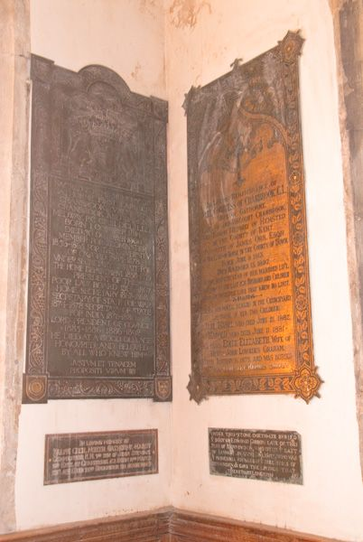 Benenden, St George's Church photo, Memorial brasses