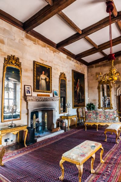 Berkeley Castle photo, The Drawing Room