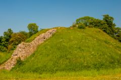 Another view of the motte