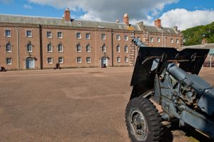 Berwick-upon-Tweed Barracks and Main Guard, Courtyard weapon!