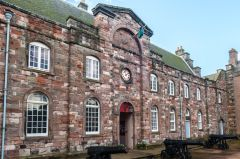 Berwick-upon-Tweed Barracks and Main Guard, The Clock Block entrance