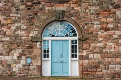 Berwick-upon-Tweed Barracks and Main Guard, The Clock Block rear entrance