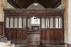 15th century chancel screen
