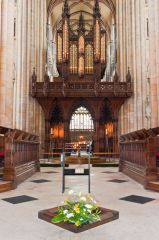 Beverley Minster, The magnificent organ screen