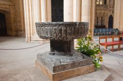 Beverley Minster, Purbeck marble font