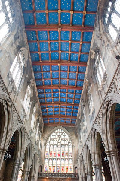 Beverley, St Mary's Church photo, Nave roof