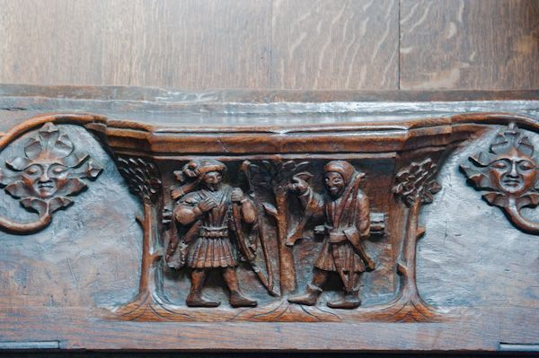 Beverley, St Mary's Church photo, Misericord of archers