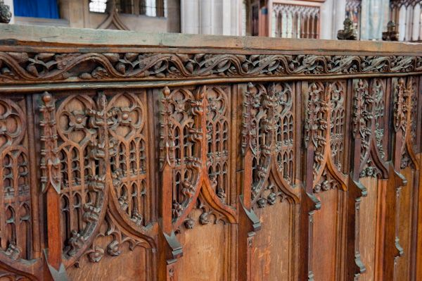 Beverley, St Mary's Church photo, Medieval chancel screen