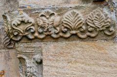 Palm leaf carvings, north doorway