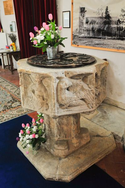 Bildeston, St Mary Magdalene Church photo, Perpendicular font