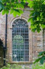 Georgian window in the nave