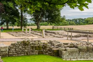 Birdoswald Fort and Hadrian's Wall