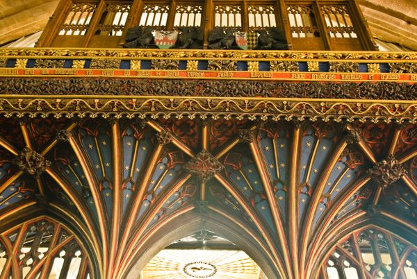 Bishops Lydeard, St Mary's Church photo, The canopy of the rood screen