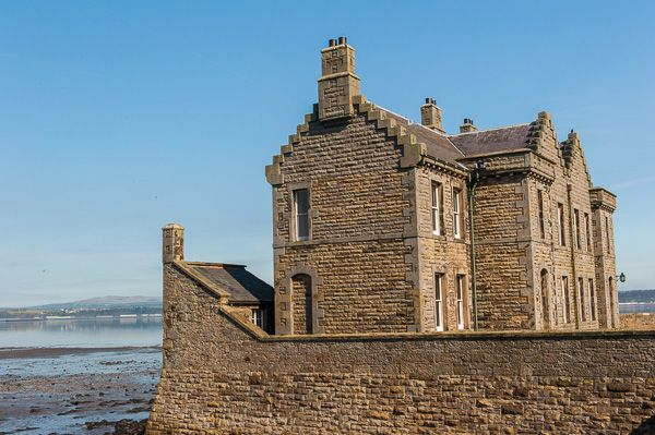 Blackness Castle photo, The Victorian officer's quarters