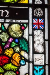 Detail from the Churchill Memorial Window