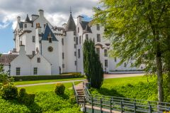 Blair Castle from the grounds