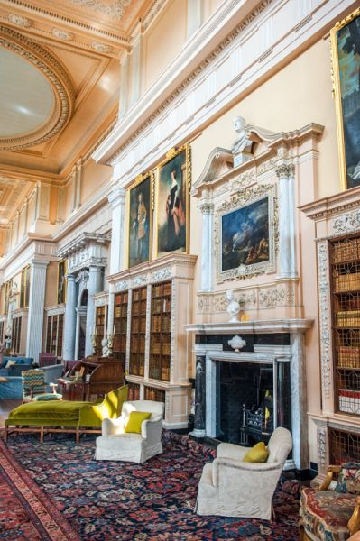 Blenheim Palace photo, The Long Library