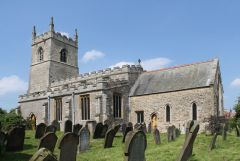 Blyton, St Martins church (c) J Hannan-Briggs