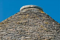 Boath Doocot, The conical stone tile roof