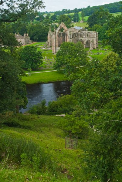 Bolton Abbey photo, Bolton Abbey and River Wharfe