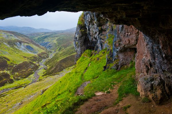 North West Highlands Geo Park photo, The Bone Caves at Inchnadamph