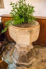 The 13th century font