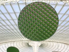 Reflecting mirror inside Kibble Palace (c) Rosser1954