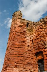 Bothwell Castle, The prison tower