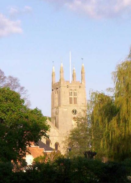 Bourne photo, The tower of Bourne church (c) Sweetalkinguy