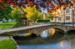 Bourton on the Water, Footbridges across the River Windruch