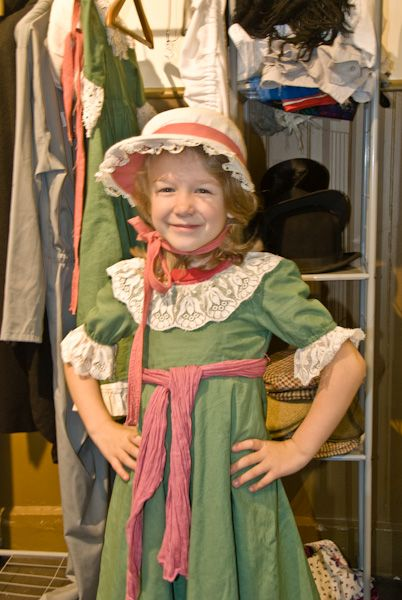 Bowhill photo, Children's dress-up