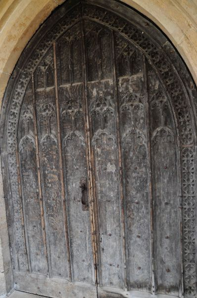 Boxford, St Mary's Church photo, South door