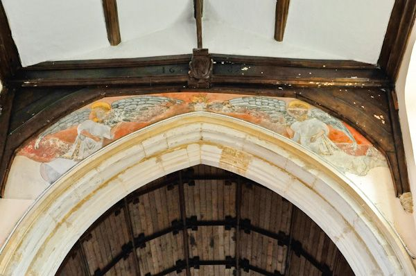 Boxford, St Mary's Church photo, Chancel arch
