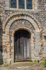 Romanesque doorway
