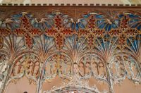 Rood screen canopy