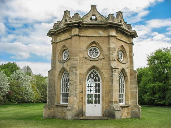 Bramham Park photo, The Gothic Temple (c) Paul Brooker